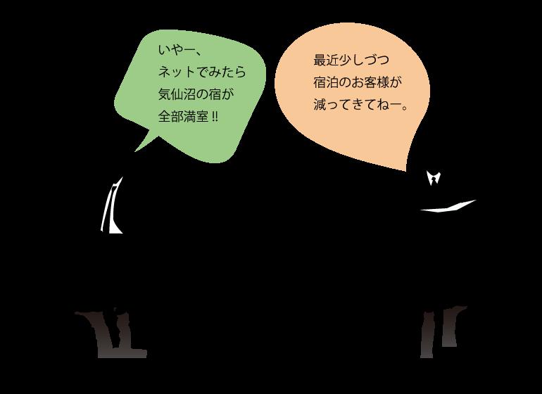 気仙沼市のリアルタイム宿泊情報サイト_変幻自在合同会社